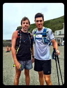 Martin and runner